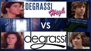 Degrassi High vs Degrassi: These Jaitlin And Eclare Scenes Look Similar...