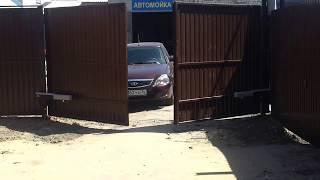 Установка распашных ворот Воронеж