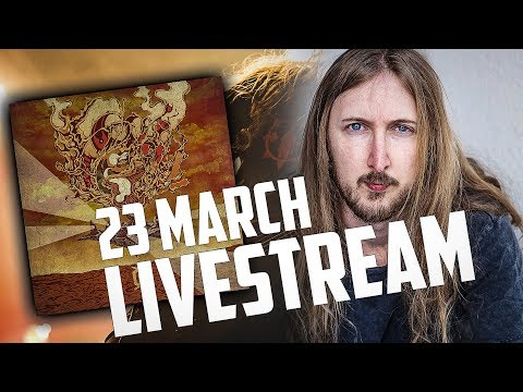 LIVE STREAM - Ola Englund - Master of The Universe Release listening Q/A