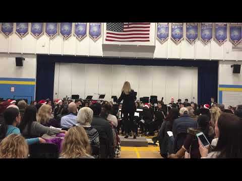 """Fantasia on the """"Dargason"""" Westview Hills Middle School Gold Band"""