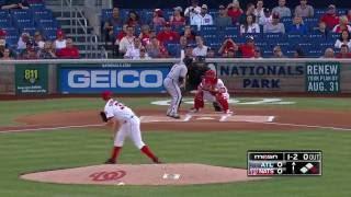 August 12, 2016-Atlanta Braves vs. Washington Nationals
