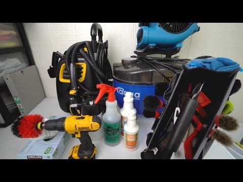 All Interior Car Cleaning Tools And Products I Use (2019)