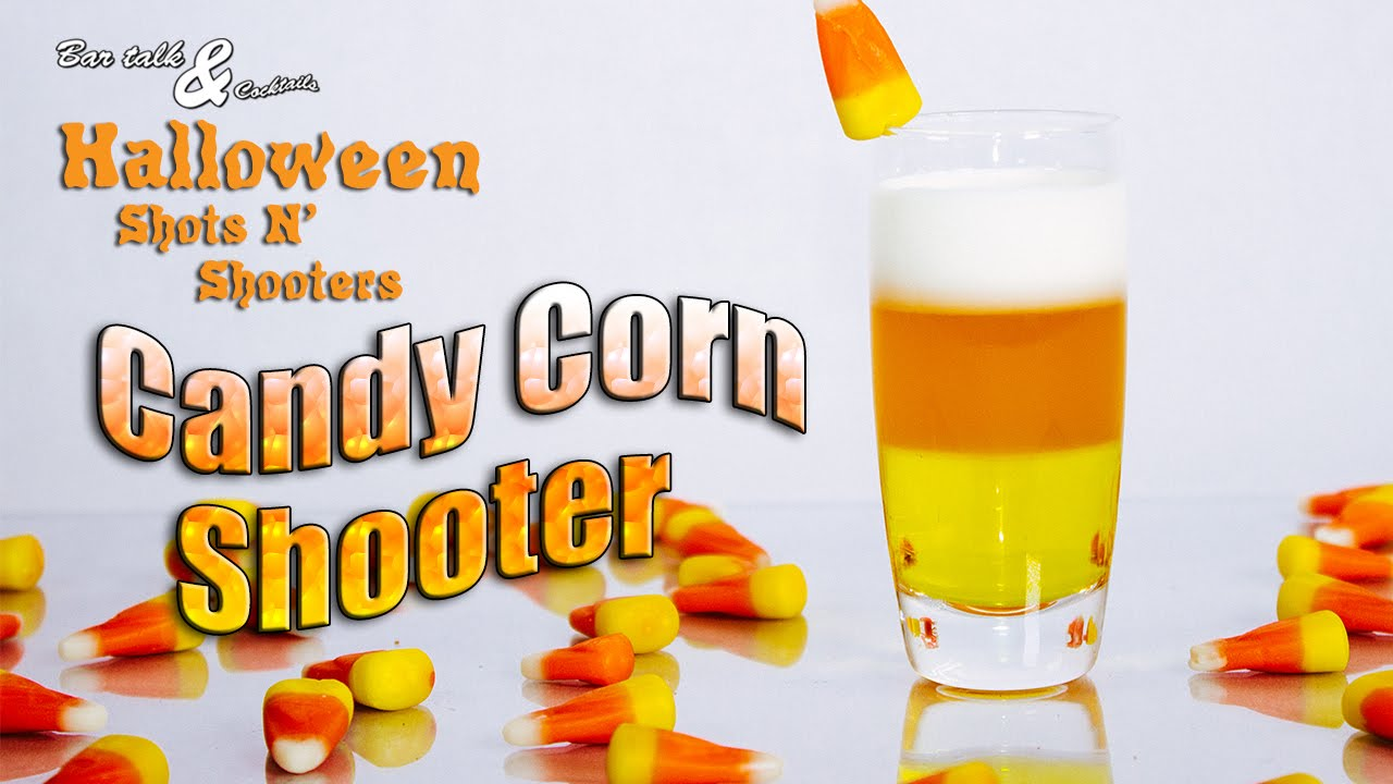 candy corn shooter halloween shots n shooters - Halloween Shooters Cocktails