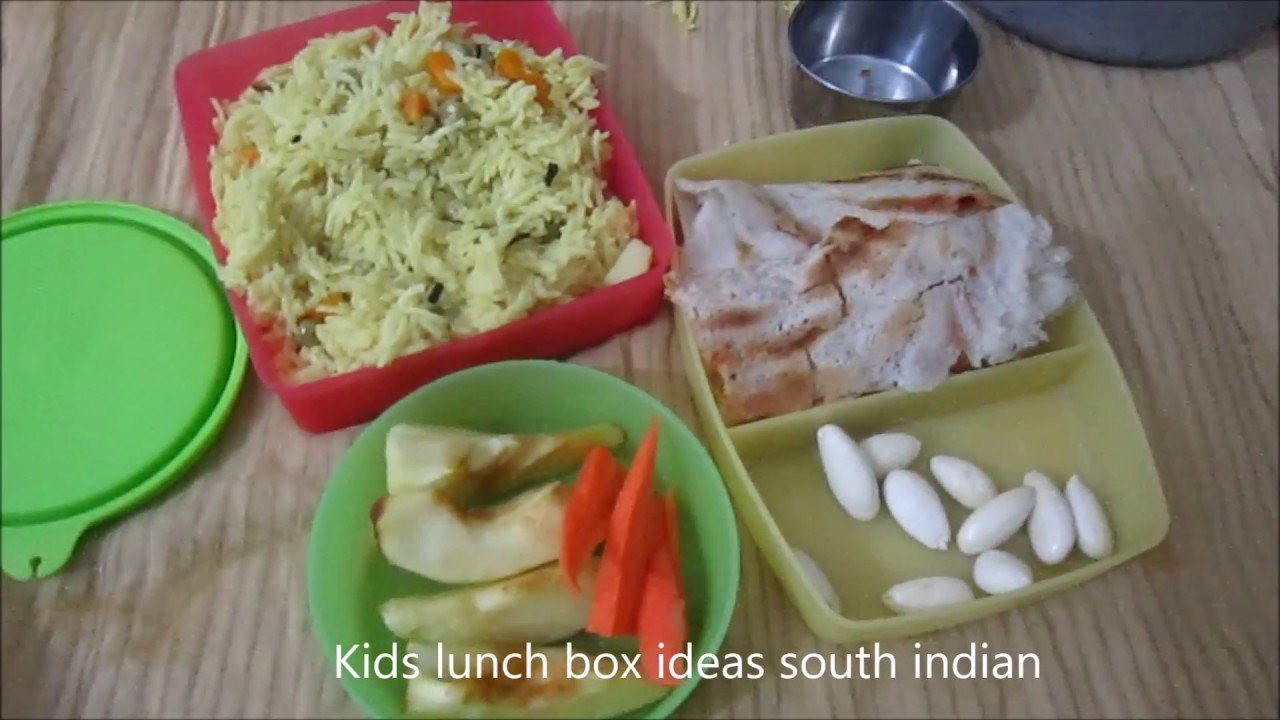 Kids Lunch Box Ideas In South India