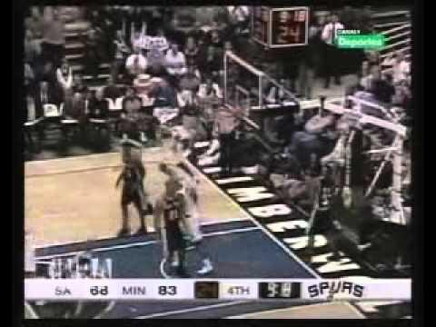 Igor Rakocevic vs Spurs (2002-03 Nba regular season)