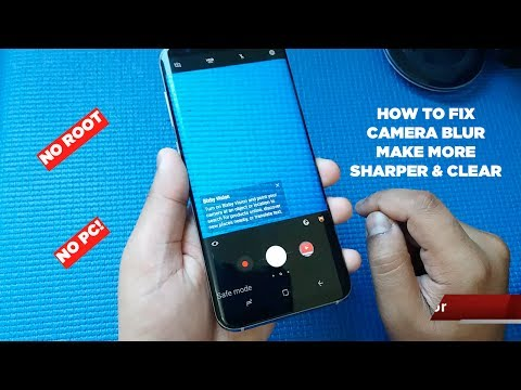 HOW I FIXED MY SAMSUNG GALAXY S8 CAMERA QUALITY AND SHARPNESS!