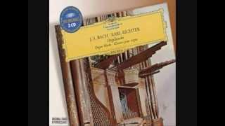 Johann Sebastian Bach Prelude & Fugue in D - major (BWV) 532. Karl Richter