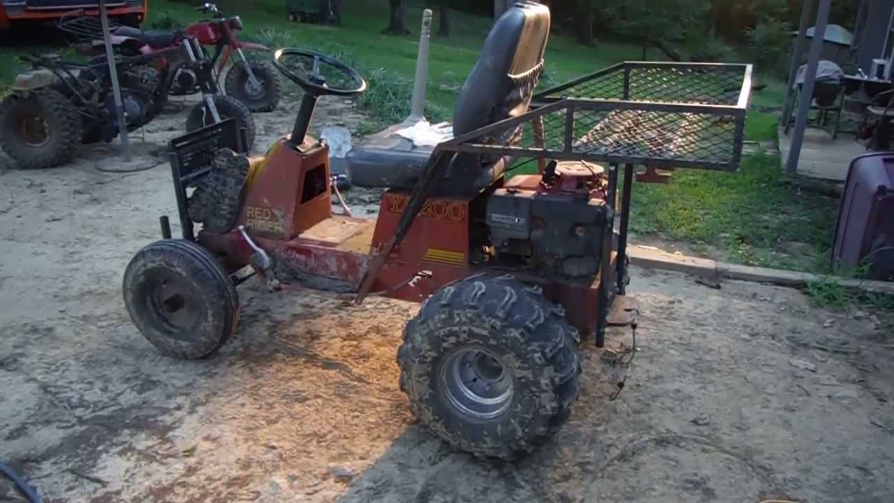 Lawn Mower Racing >> Off Road Yazoo Mower- Update Gas Clutch and Brake Pedals - YouTube