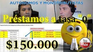 """Préstamos A Tasa """"0"""" - $150.000 AutÓnomos Y Monotributistas Afip - Inscripcion Desde 4/05/2020!!"""