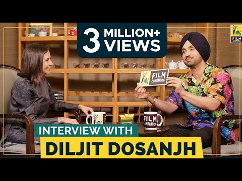 Diljit Dosanjh Interview With Anupama Chopra | Soorma | Film Companion