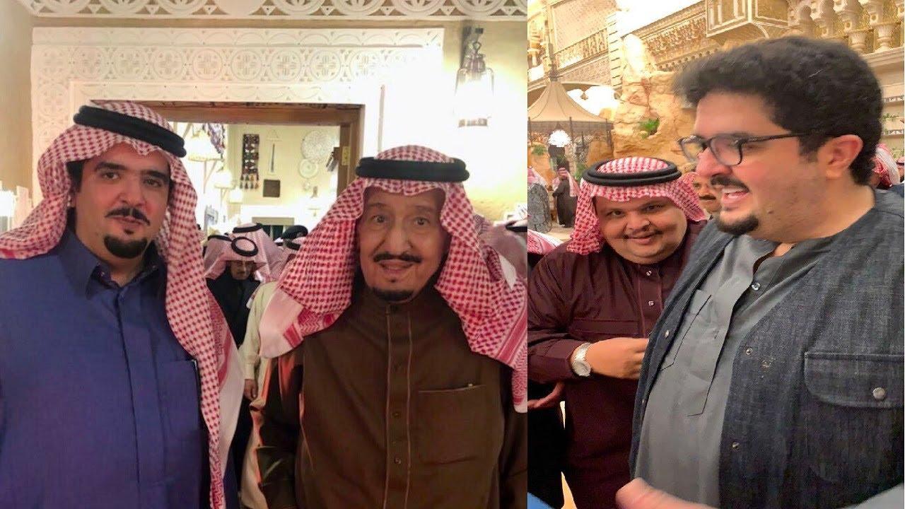 فاجأ الملك سلمان في قصره شاهد ظهور جديد للأمير عبد العزيز بن فهد