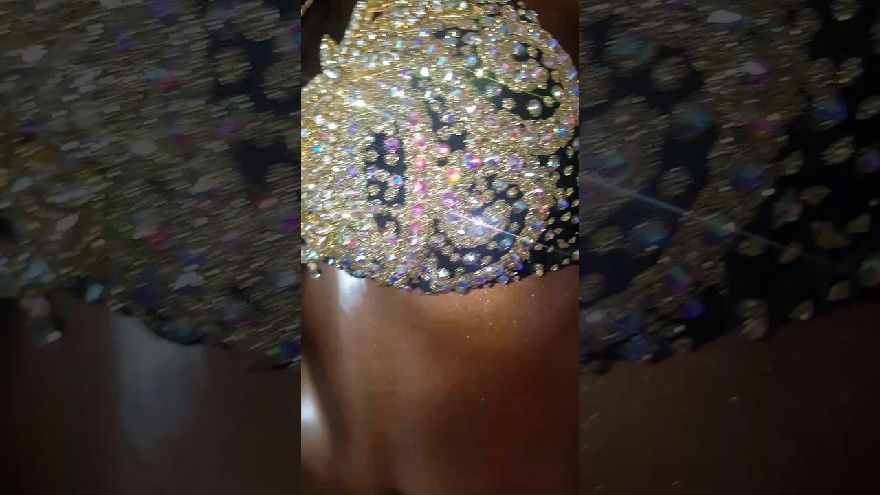 31cdea3e0f Gold bikini competition suit Fitness Divas bikini - YouTube