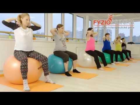 Cvičení v těhotenství - břišní svaly