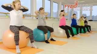 Skupinová cvičení pro těhotné maminky
