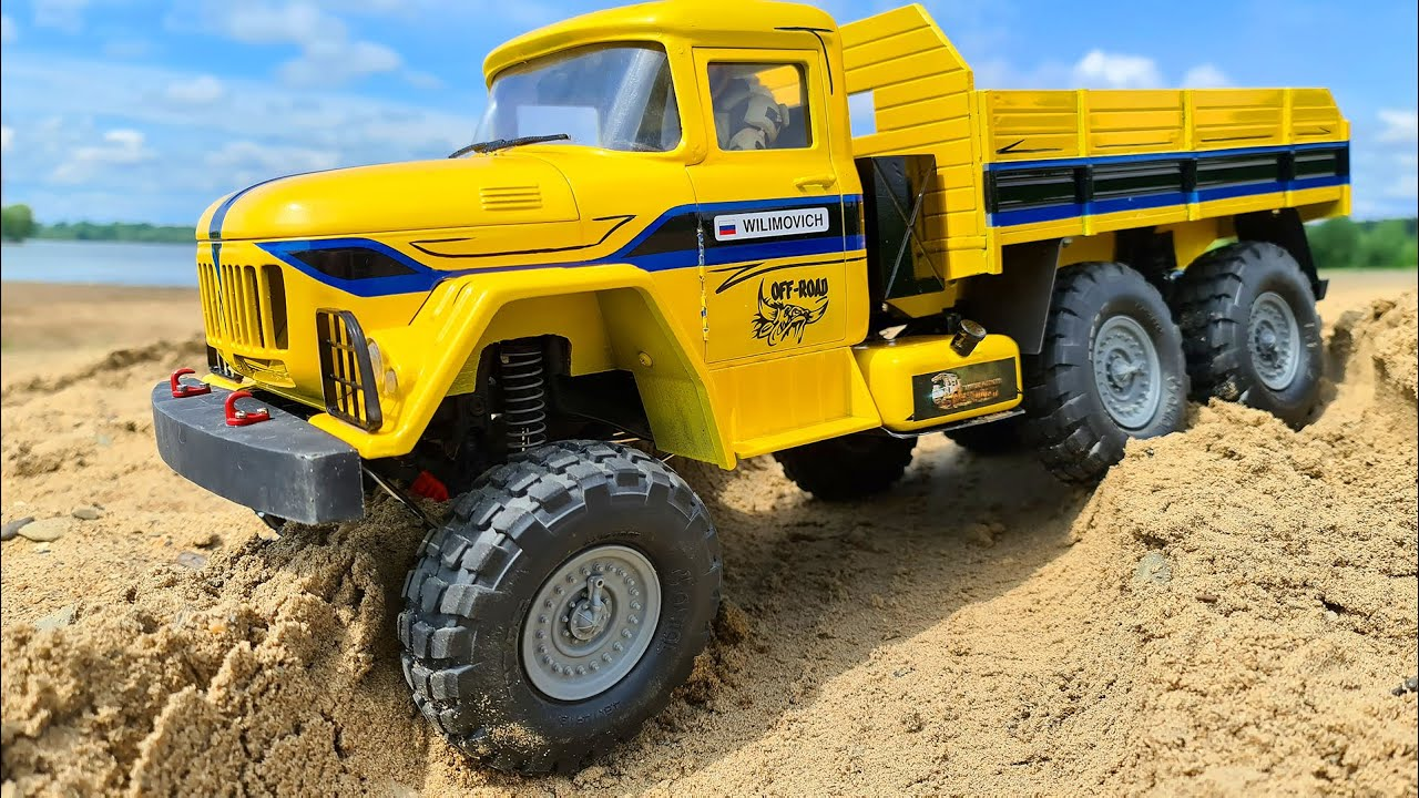 ZIL 131 6x6 Sand and Water Adventures – Wilimovich