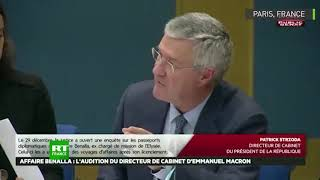 Affaire Benalla : Audition De Patrick Strzoda à La Commission Des Lois Du Sénat