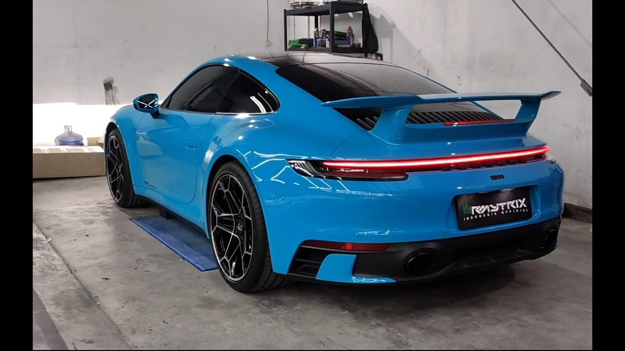 Cruising in Style | Porsche 911 992 Carrera S w/ ARMYTRIX Turbo-Back Valvetronic Exhaust System