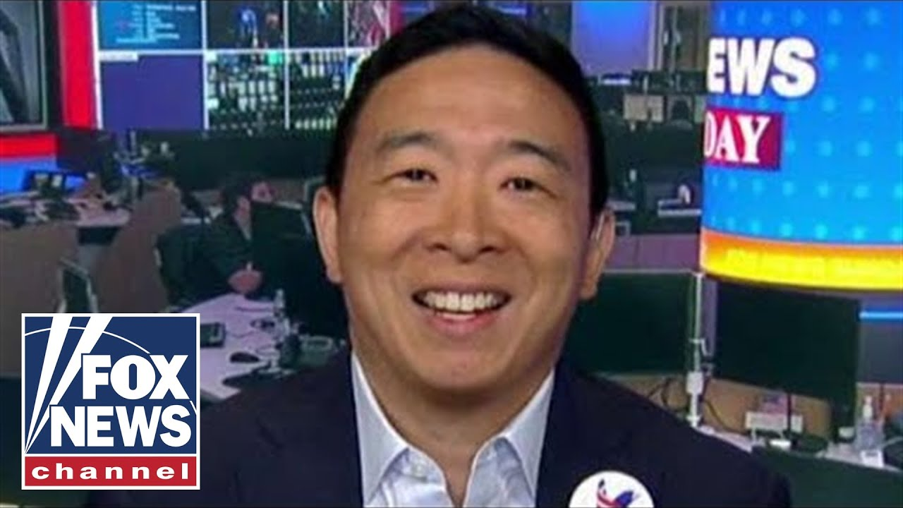 FOX News Andrew Yang previews second round of Democratic presidential debates