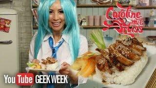 Geek Week: Hatsune Miku's Teriyaki Chicken Don