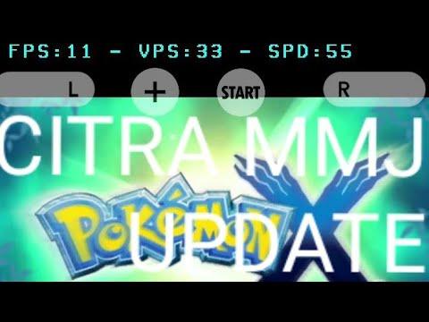 Pokemon X - citra mmj - update - Samsung Galaxy S10+ exynos 9820
