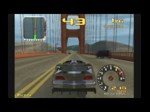 PS2 - Test Drive - Gameplay