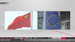 China, EU agree to swap currencies