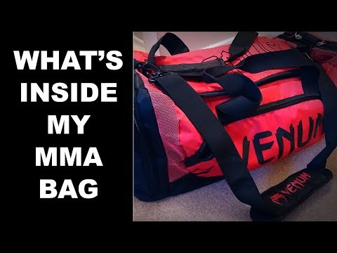 What's Inside My MMA/Kickboxing Bag?