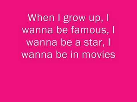 When I Grow Up Pussycat Dolls Lyrics Youtube