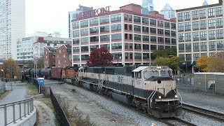 A Salute to Variety - Busy Railfanning in Philadelphia, 16 nov 2013