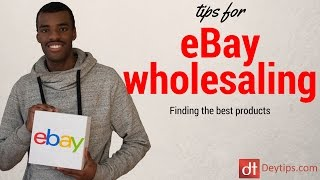 How To Find Wholesale Products To Sell On eBay | Best wholesale items for ebay