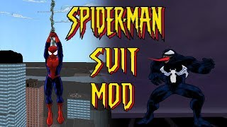 Ultimate Spider-Man SPIDER-MAN 2000 SUIT MOD (PC Gameplay)