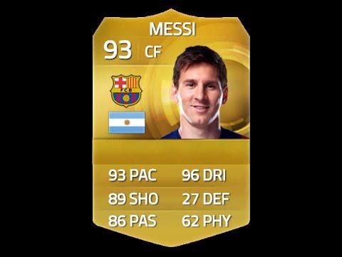 Messi Fifa 14 Card FIFA 15 MESSI 9...