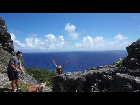 I'M ON TOP OF THE WORLD!   Guam Vlog 11