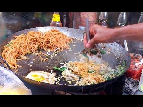 Asian Street Food, Fast Food Street in Asia, Cambodian Street food #231