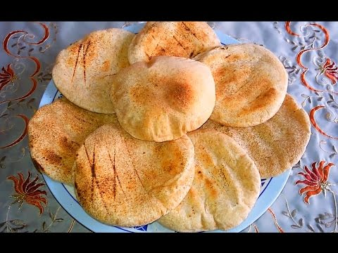 العيش البلدى |الخبز الاسمر| مطبخ ساسى