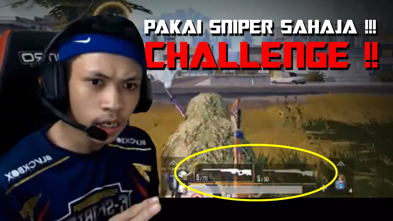 CHALLENGE ACCEPTED, TRY PAKAI SNIPER DARI SEKETUL AUL !!!