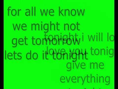 NeYo  Tonight Give Me Everything Prod  David Guetta New 2011  lyrics