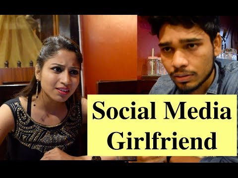 Social Media Girlfriend ft. Shahrukh khan's dialog || Creepy Team