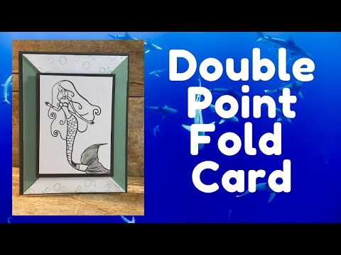 Double Point Fold Card | Pinterest Inspired