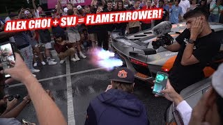 WE LITERALLY CAN'T BRING ALEX CHOI ANYWHERE!! AVENTADOR SVJ MADNESS!!