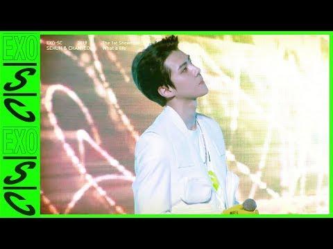 SEHUN CAM | '있어 희미하게 (Just Us 2) (Feat. Gaeko)' @EXO-SC 세훈&찬열 SHOWCASE