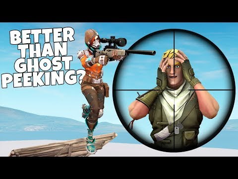 How To JUMP SCOPE With A Sniper In Fortnite!   A Fortnite Tutorial