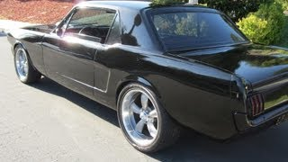 """65 Mustang w 3"""" Exhaust"""