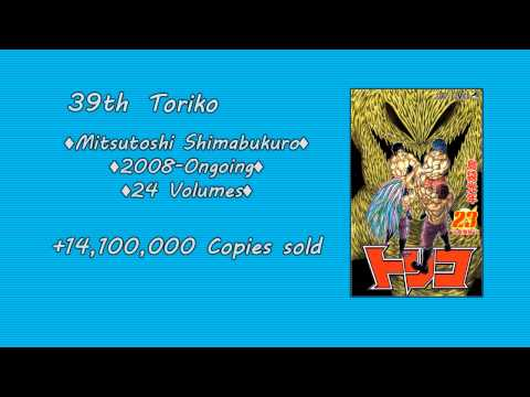 Top 50 Best Selling Manga of Weekly Shonen Jump - Part 1