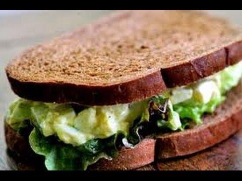 Avocado Chicken Salad Sandwich - Sandwich Recipes QUICKRECIPES