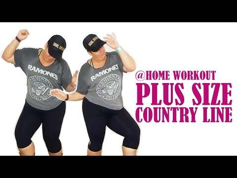 At home country line dancing workout - PCOS Weight loss