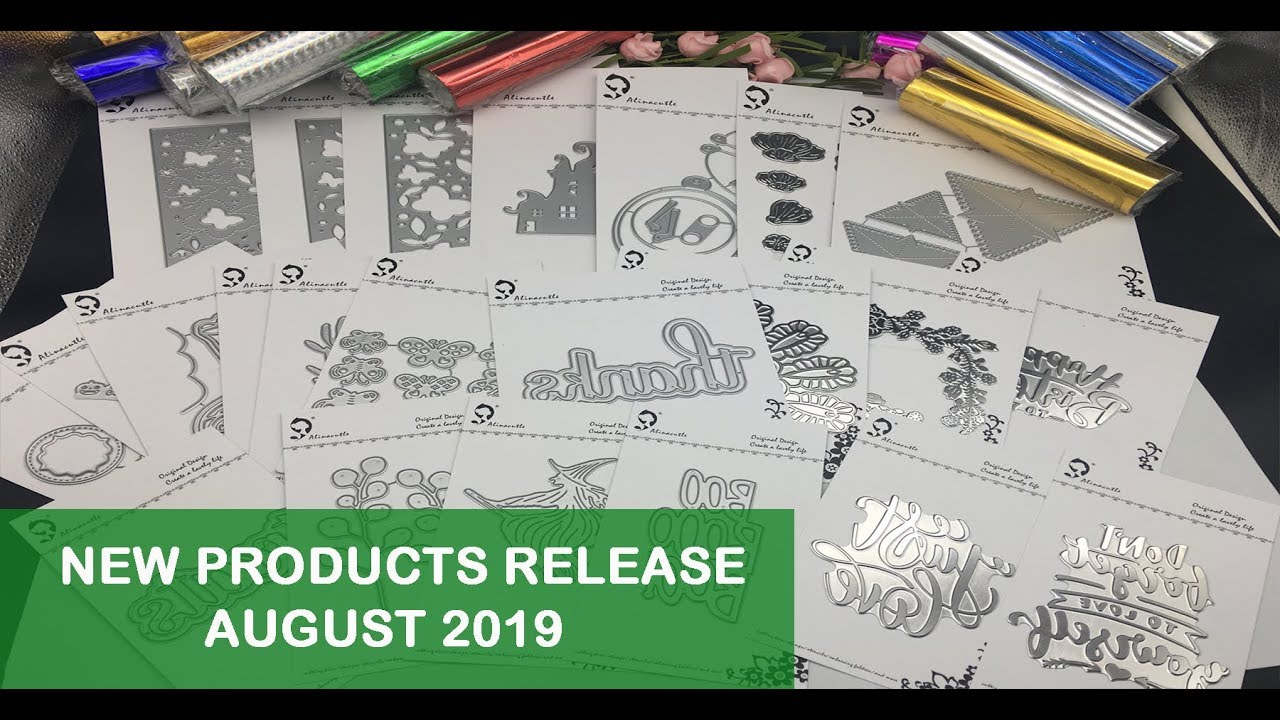 AlinaCraft (Alinacutle) New Products Release AUGUST 2019 -#new release #Aliexpress #haul