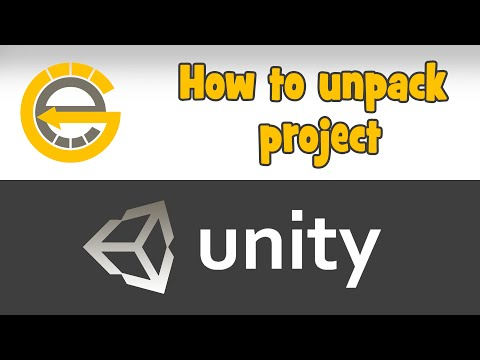 How to unpack project (unity3d) - - vimore org