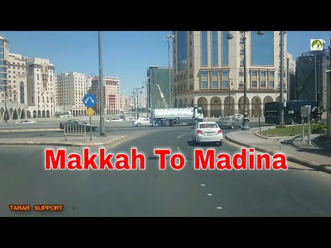 Traveling Saudi Arabia Makkah To Madina Road Trip 2019