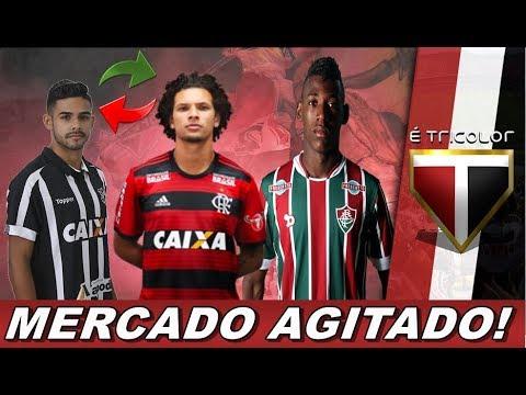 MERCADO DA BOLA NO SÃO PAULO FC! WILLIAN ARÃO DO FLAMENGO , FELIPE JONATAN DO CEARA E LÉO PELE